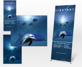 Trade Show Stand: Lightsky