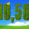 Photoshop Grass Text