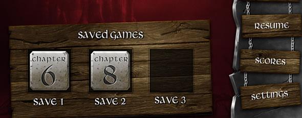 Fantasy Game UI Design